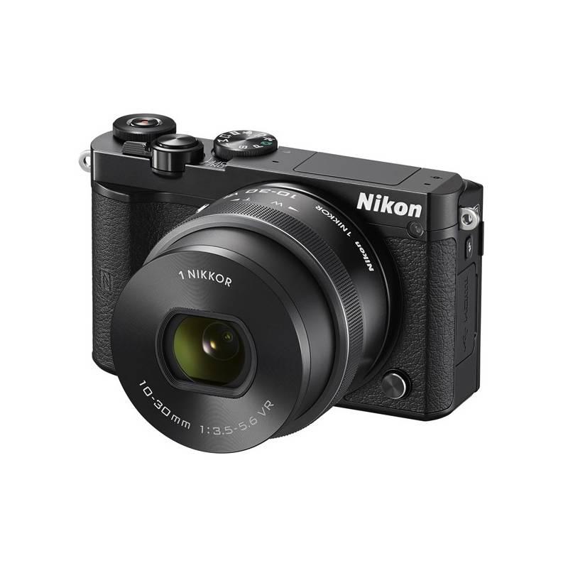 Digitálny fotoaparát Nikon 1 J5 + 10-30mm čierny + Doprava zadarmo