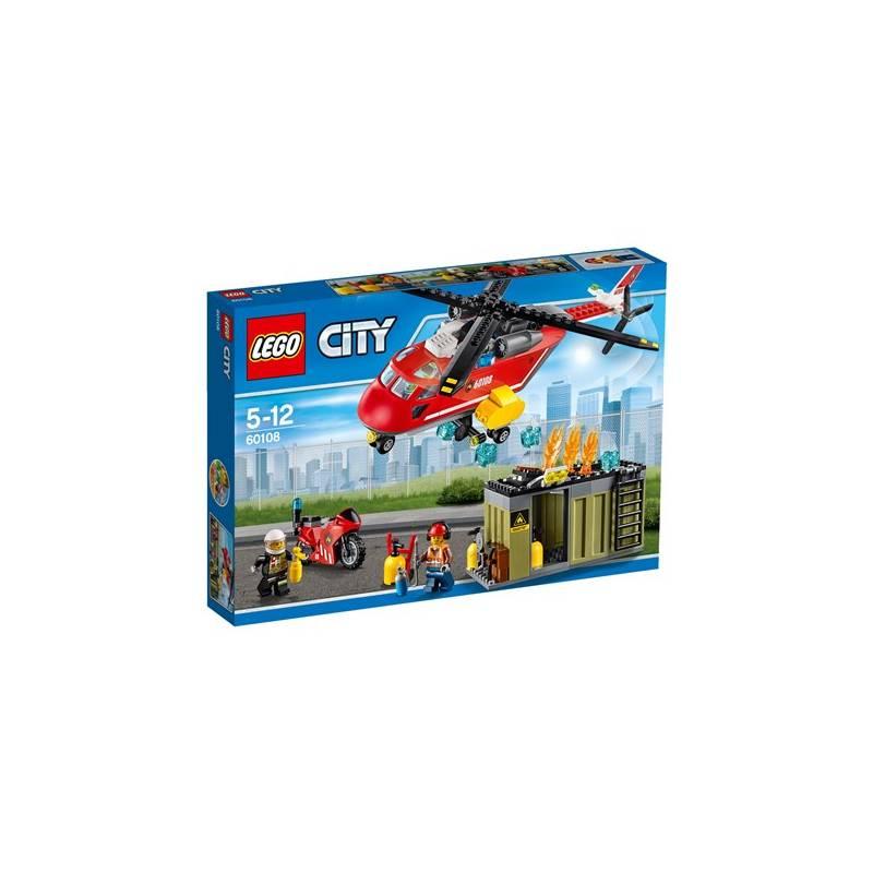 Zestawy Lego City City Fire 60108 Helikopter Strażacki Eukasapl