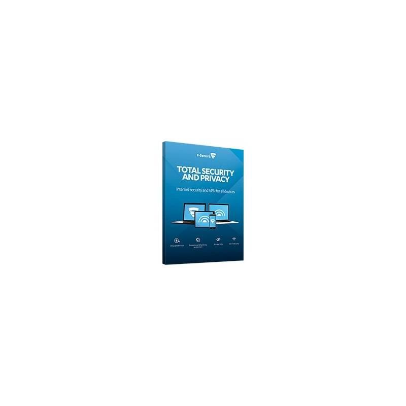 Software F-Secure TOTAL, 3 zařízení / 1 rok (FCFTBR1N003G1)