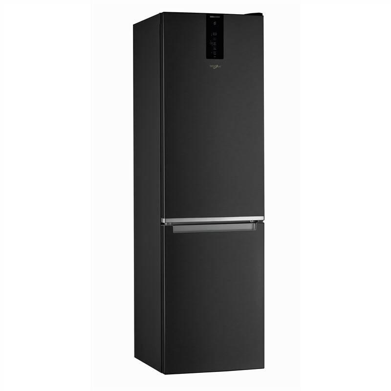 Kombinácia chladničky s mrazničkou Whirlpool W Collection W9 931D KS čierna + Doprava zadarmo