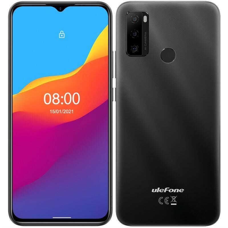 Mobilný telefón UleFone Note 10 Dual SIM (ULE000395) čierny