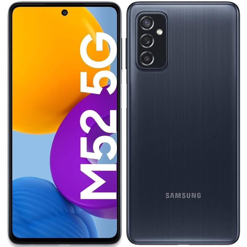 Mobilný telefón Samsung Galaxy M52 5G (SM-M526BZKDEUE) čierny