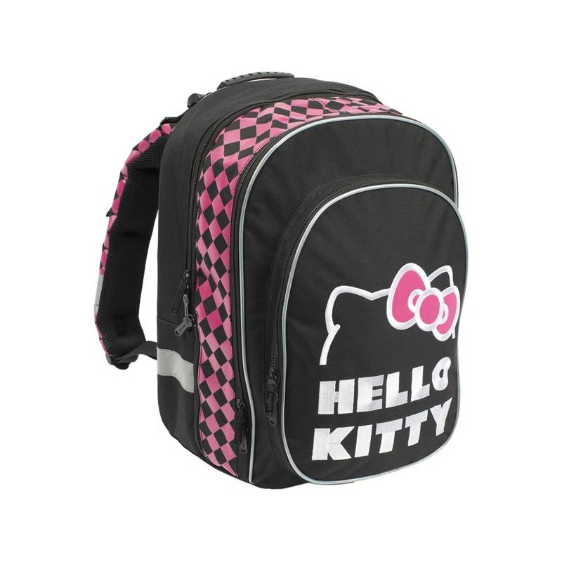 Batoh školský P + P Karton anatomický ERGO Hello Kitty Black