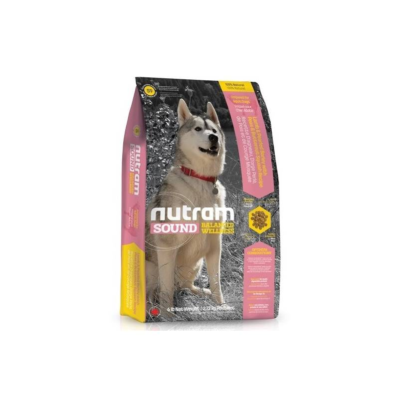 Granule NUTRAM Sound Adult Lamb Dog 13,6 kg