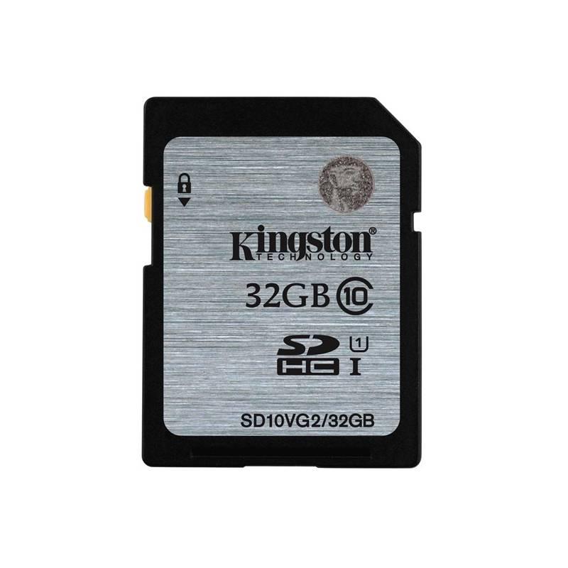 Pamäťová karta Kingston SDHC 32GB UHS-I U1 (45R/10W) (SD10VG2/32GB)