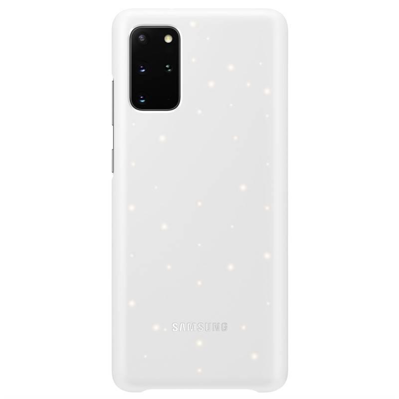 Kryt na mobil Samsung LED Cover na Galaxy S20+ (EF-KG985CWEGEU) biely + Doprava zadarmo