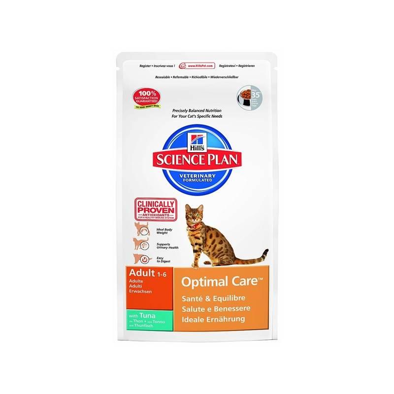 Granule Hill's Feline Adult Tuna & Rice, 2 kg (pre mačky)