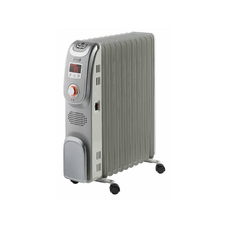 Olejový radiátor Gorenje OR 2300 PEM strieborný + Doprava zadarmo