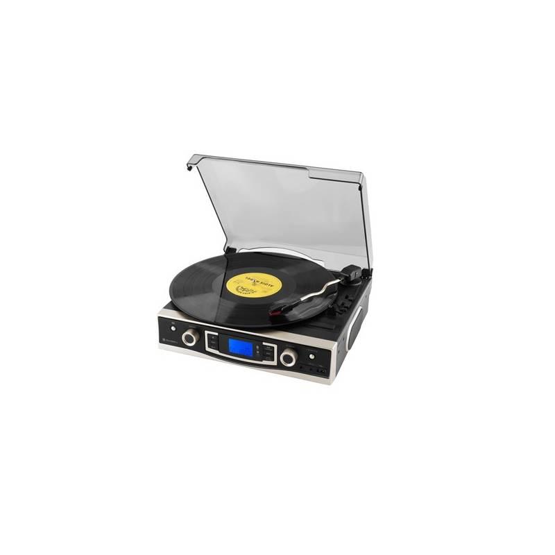 Gramofón GoGEN MSG262BTU čierne