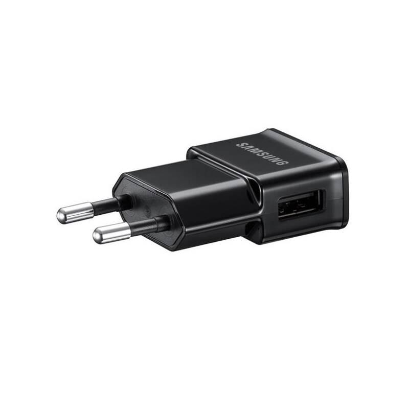 Nabíjačka do siete Samsung ETA0U80, 1x USB, 1A + MicroUSB kabel (ETA0U80EBEGSTD) čierna