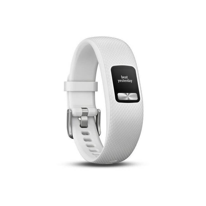 Monitorovací náramok Garmin vívofit 4 (velikost S/M) (010-01847-11) biele