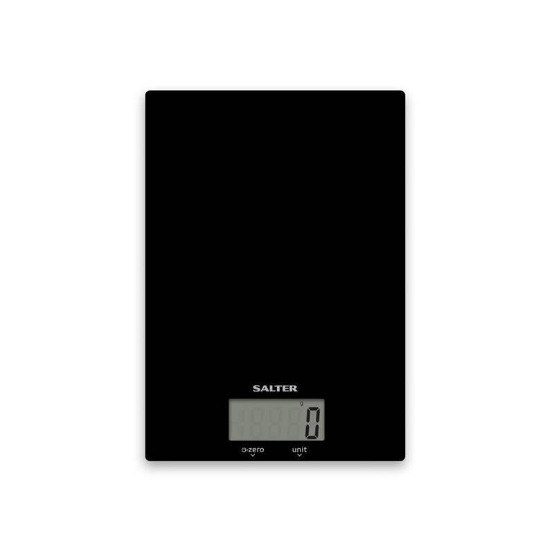 Kuchynská váha Salter 1170BKDR čierna