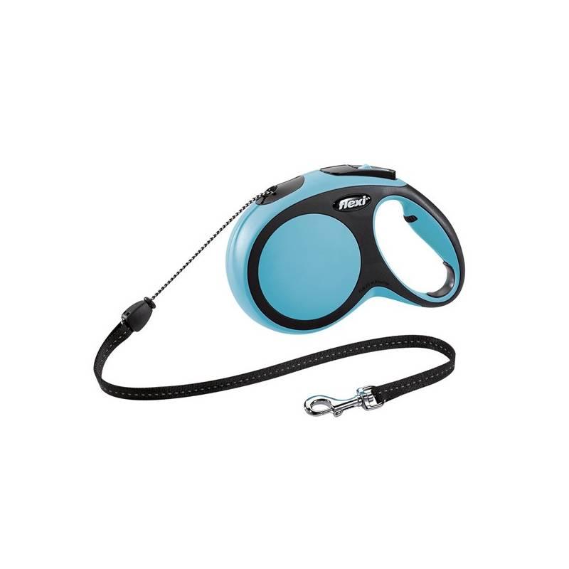 Vodítko Flexi Comfort M Lanko 8m/20kg modré