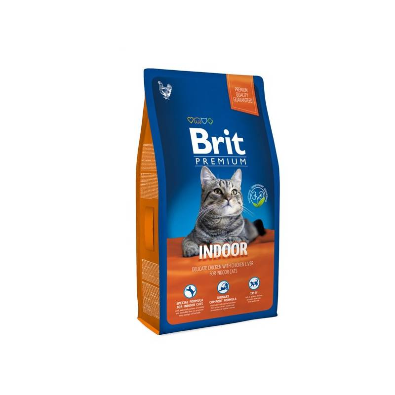 Granule Brit Premium Cat Indoor 1,5kg