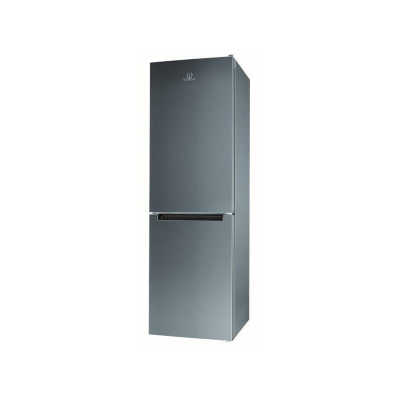 Kombinácia chladničky s mrazničkou Indesit LR8 S2 X B nerez + Doprava zadarmo