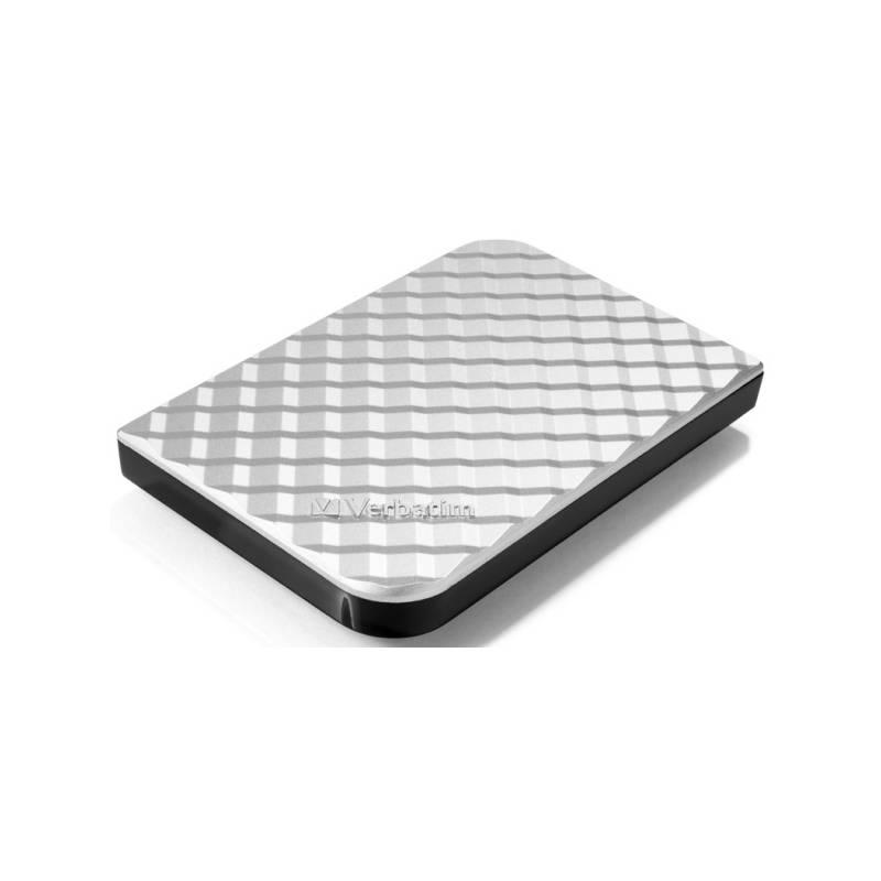 Externý pevný disk Verbatim Store 'n' Go GEN2 2TB (53198) strieborný