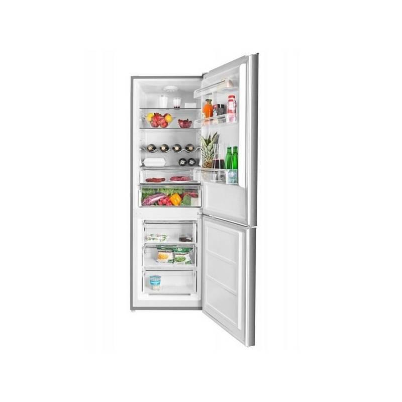 Kombinácia chladničky s mrazničkou ETA 337590010 nerez + Doprava zadarmo