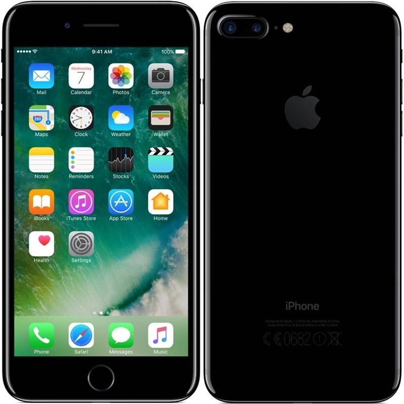 Mobilní telefon Apple iPhone 7 Plus 32 GB - Jet Black (MQU72CN/A)
