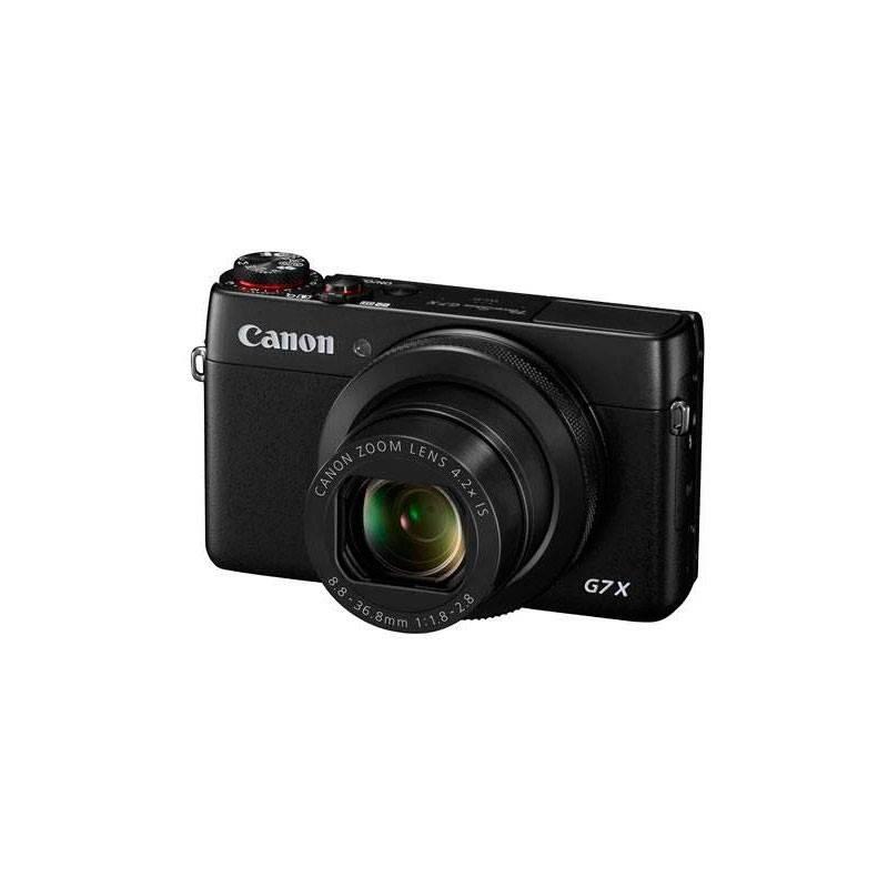 Digitálny fotoaparát Canon PowerShot G7X čierny + Doprava zadarmo