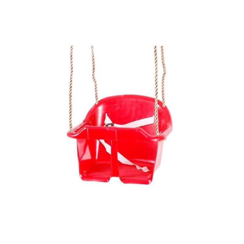 Hojdačka CUBS Basic plastová červená