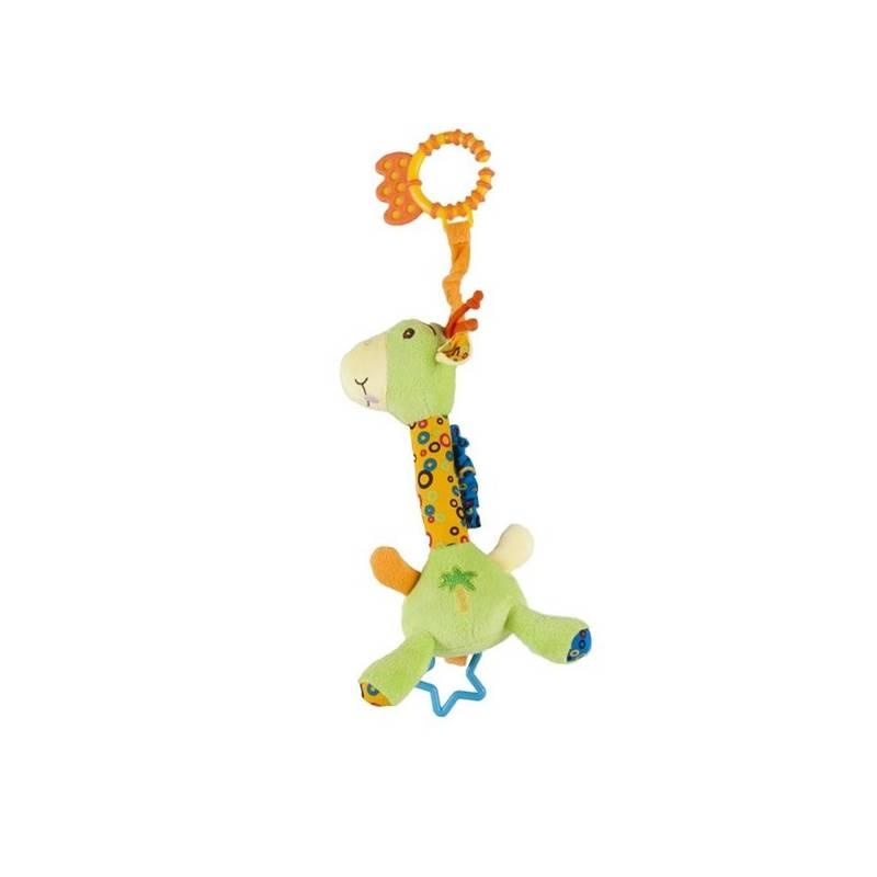 Edukačná hračka Sun Baby žirafa modrá/žltá/zelená + Doprava zadarmo