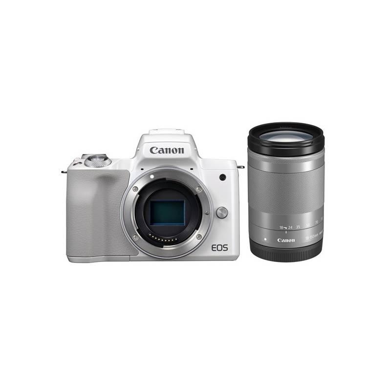 Digitálny fotoaparát Canon EOS M50 + EF-M18-150 (2681C042) biely + Doprava zadarmo