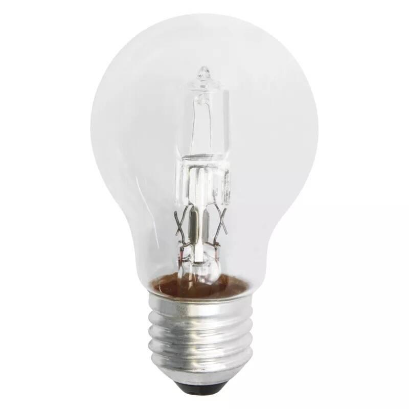 Halogénová žiarovka EMOS klasik, 18W, E27, teplá bílá (ECCL18-A55E27)
