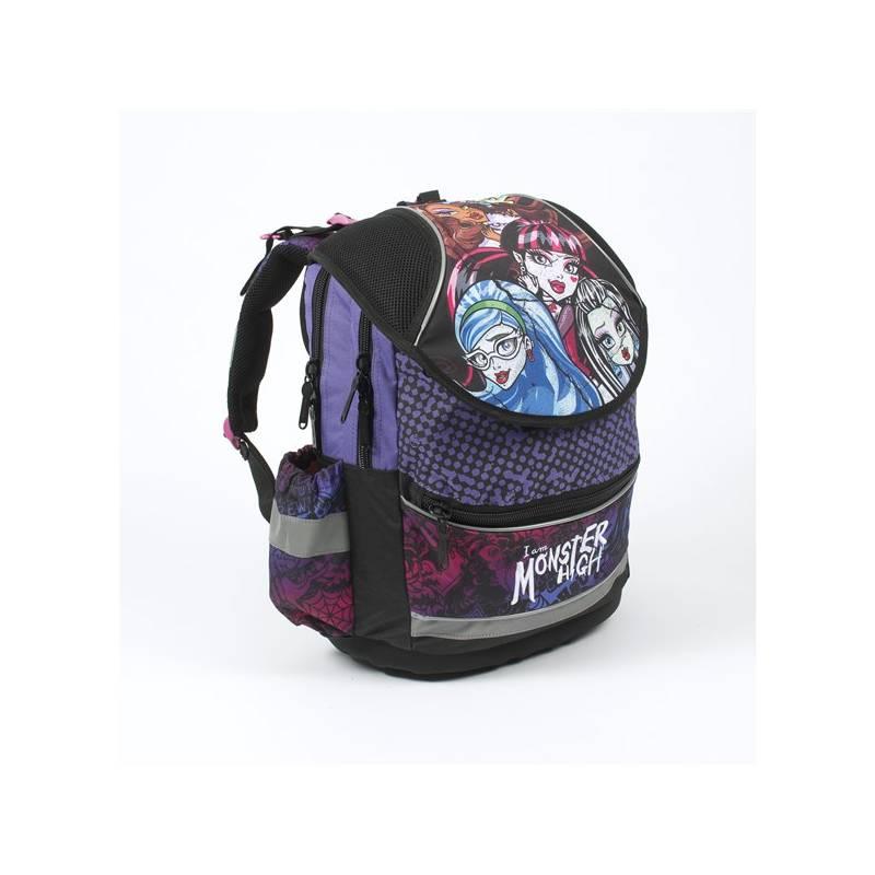 b7fd856f57dbd Plecak szkolny P + P Karton PLUS Monster High Czarny/Różowy /Purpurowy