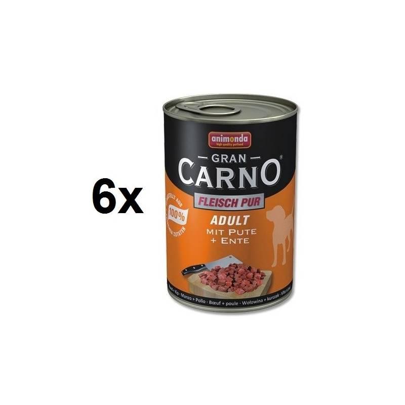 Konzerva Animonda Adult Gran Carno krůta + kachna 6 x 400g