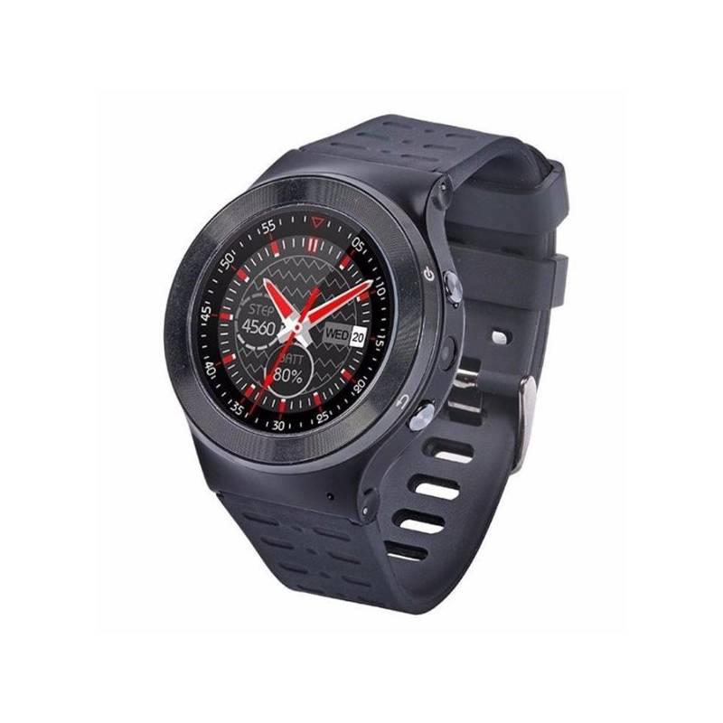 Chytré hodinky IMMAX SW3 SIM (09004) černé
