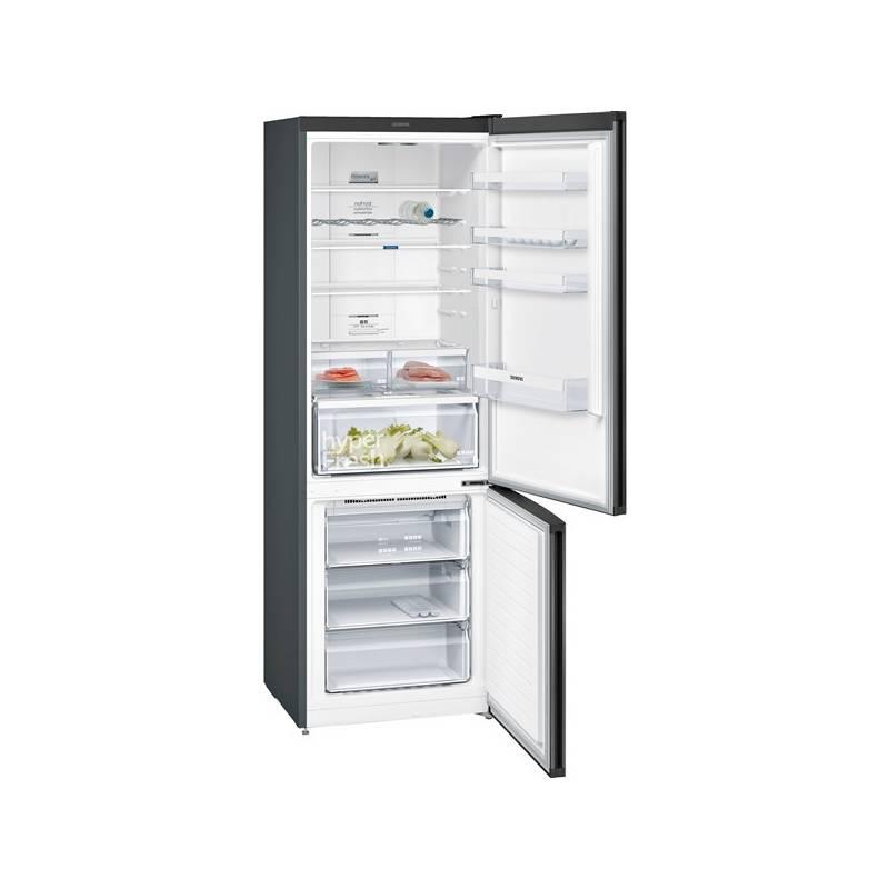 Kombinácia chladničky s mrazničkou Siemens KG49NXX4A nerez + Doprava zadarmo