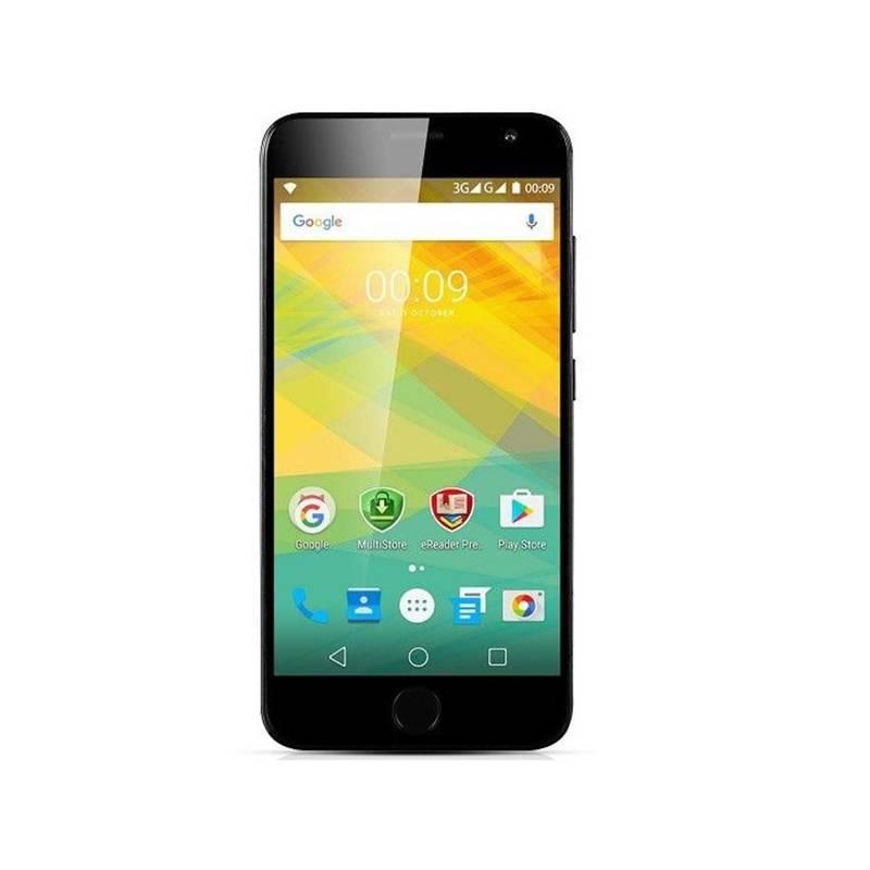 Mobilní telefon Prestigio Grace R7, černá (WTPSP7501DUOBLACK) černý
