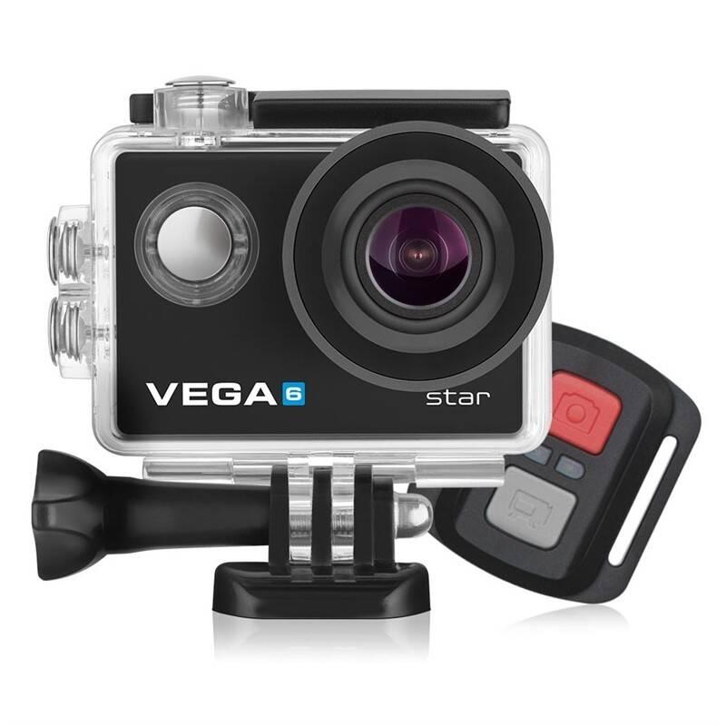 Webkamera Niceboy VEGA 6 star čierna + Doprava zadarmo