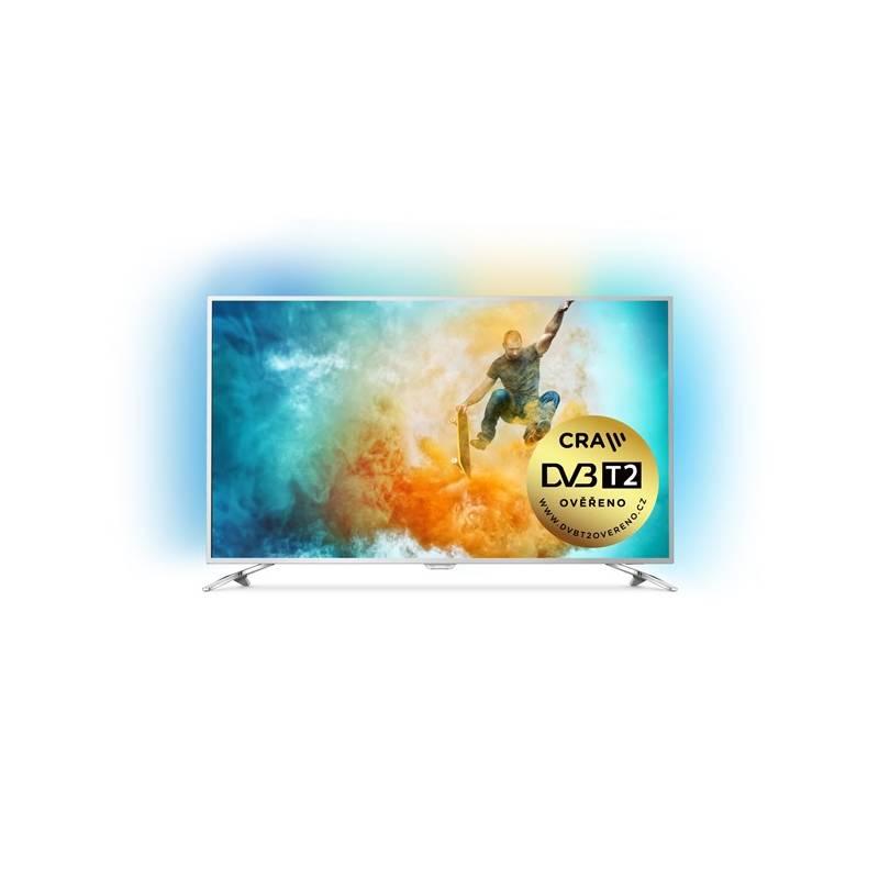 Televízor Philips 49PUS6561 strieborná + Doprava zadarmo