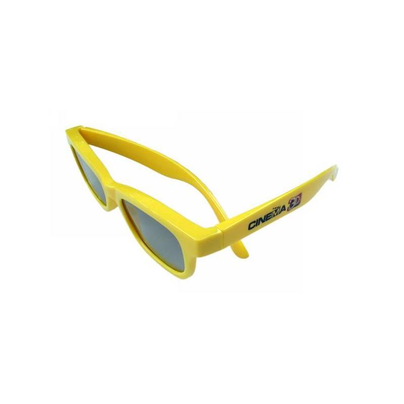 3D okuliare LG AG-F330B, polarizační, Cinema3D dětské
