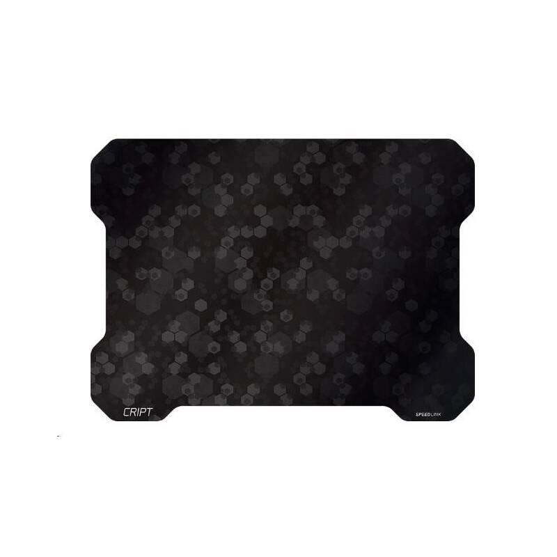 Podložka pod myš Speed Link CRIPT Ultra Thin, 38 x 28 cm (SL-620102-BK) černá