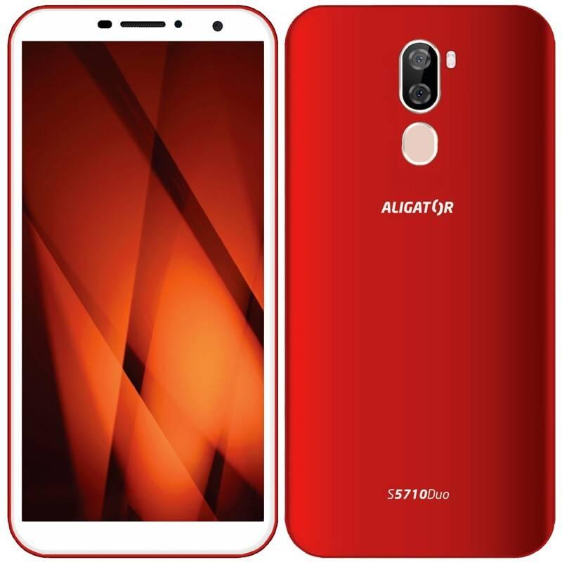 Mobilný telefón Aligator S5710 (AS5710RD) červený