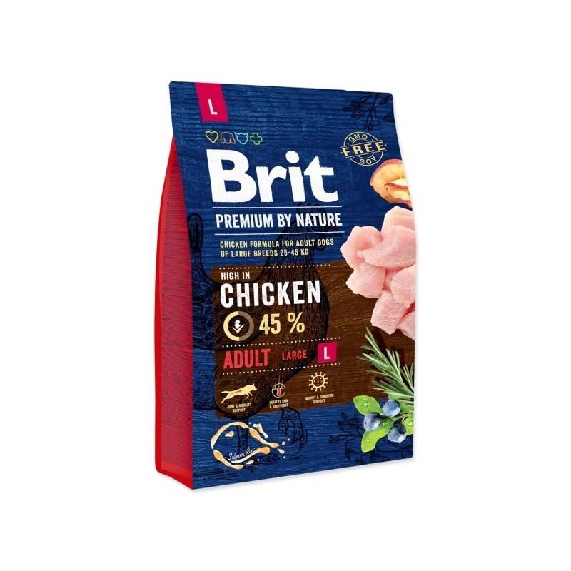 Granuly Brit Premium Dog by Nature Adult L 3 kg