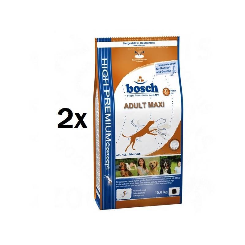 Granule Bosch Adult Maxi 2 x 15 kg , pre dospelých psov