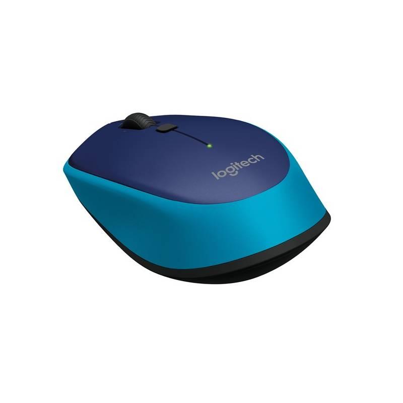 Myš Logitech Wireless Mouse M335 (910-004546) modrá