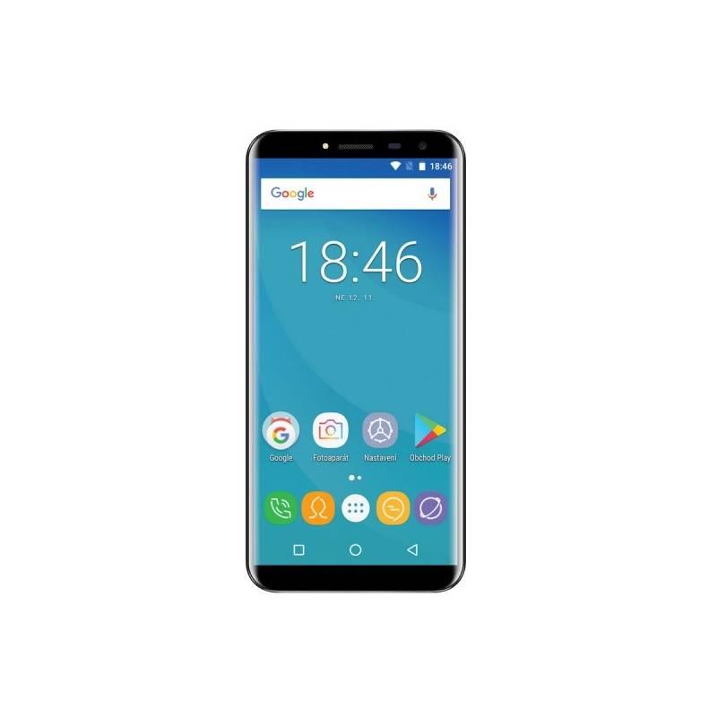 Mobilný telefón Umax VisionBook P55 X2 LTE (UMM200P52) čierny