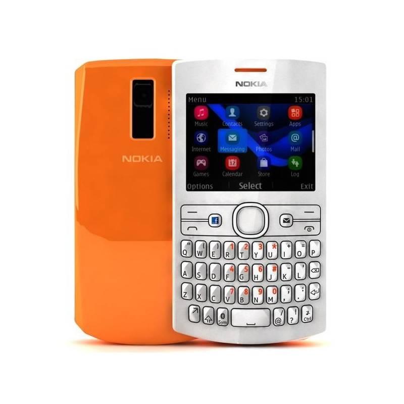 Mobilny Telefon Nokia Asha 205 Dual Sim 0023H21 Biely