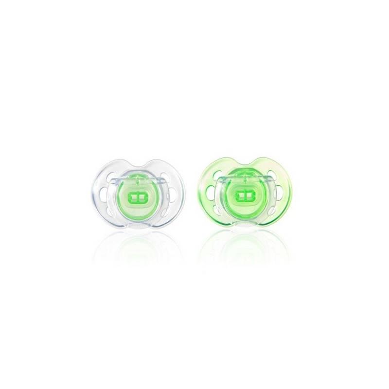 Cumlík Tommee Tippee CTN silikon Air Style 0-6m zelený