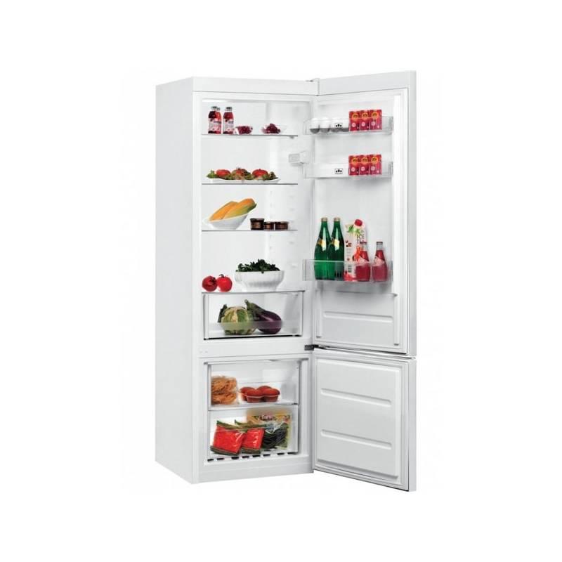 Kombinácia chladničky s mrazničkou Whirlpool BLF 5121 W biela