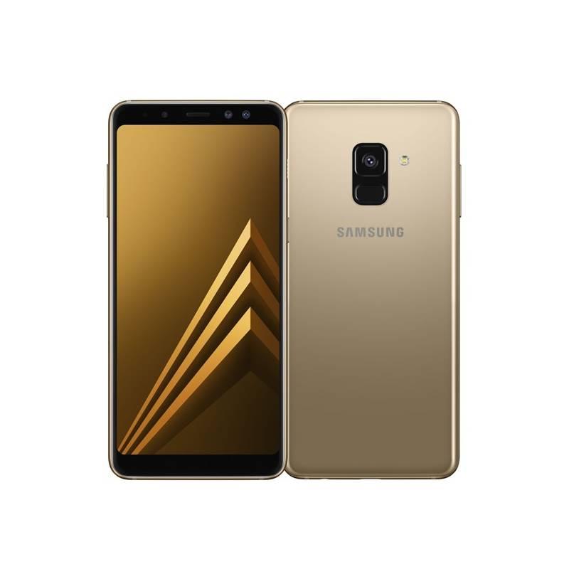 Mobilný telefón Samsung Galaxy A8 Dual SIM - Gold (SM-A530FZDDXEZ) Software F-Secure SAFE, 3 zařízení / 6 měsíců (zdarma) + Doprava zadarmo