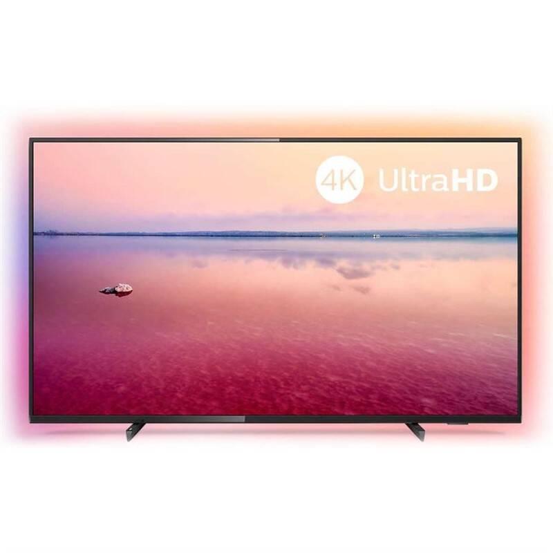 Televize Philips 43PUS6704 stříbrná