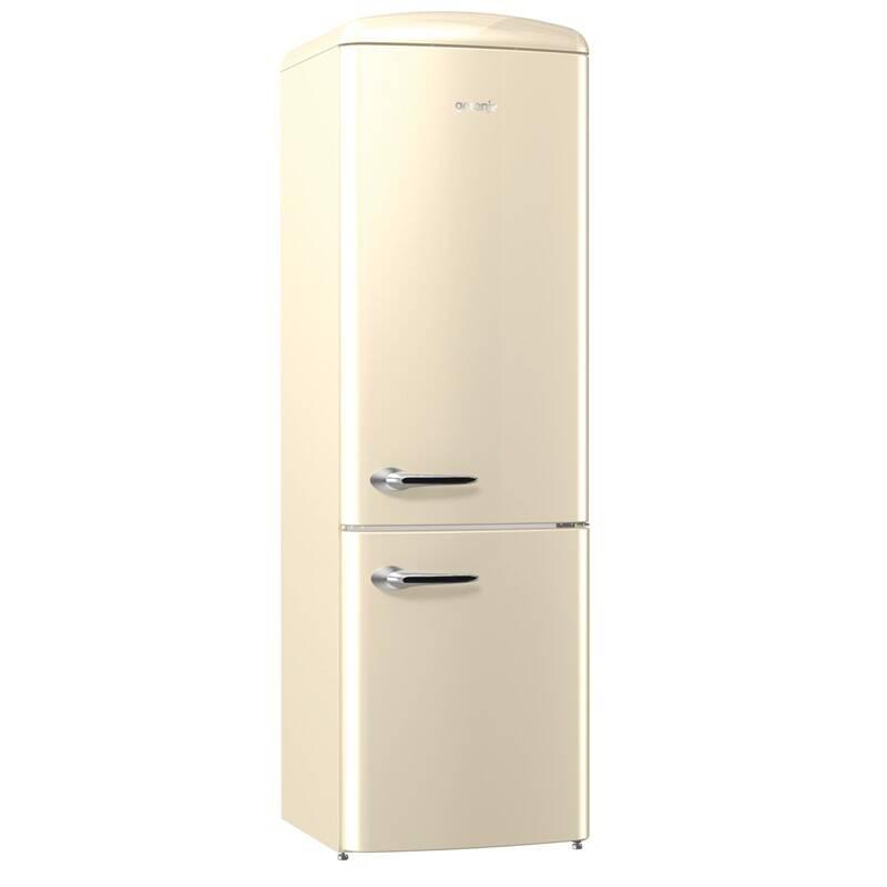 Kombinácia chladničky s mrazničkou Gorenje Retro ORK193C + Doprava zadarmo