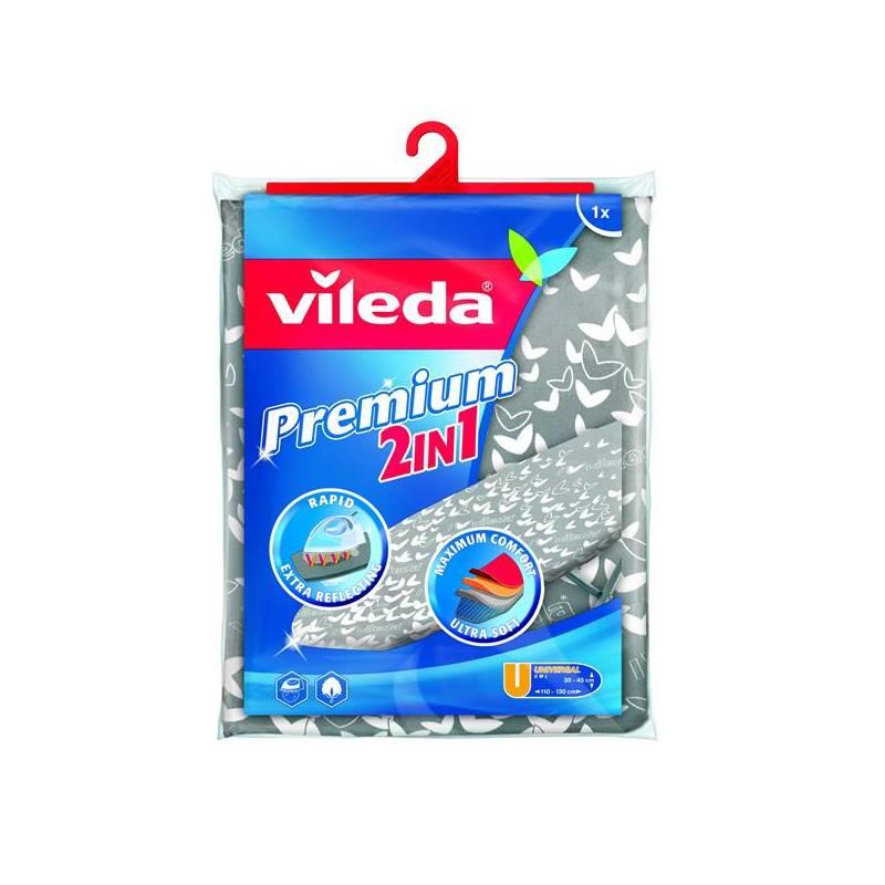 Príslušenstvo pre žehličky Vileda Viva Express Premium 2v1 (140510) strieborné