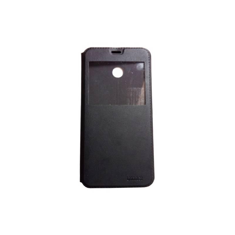 Puzdro na mobil flipové Umax pro VisionBook P55 LTE (UMM120C55) čierne