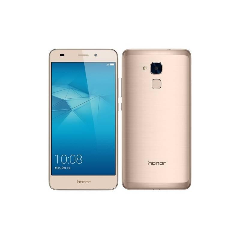 Mobilný telefón Honor 7 Lite Dual SIM (51090MRS) zlatý